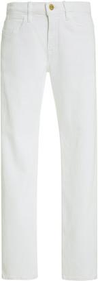 Frame Le Hollywood Rigid High-Rise Straight-Leg Jean