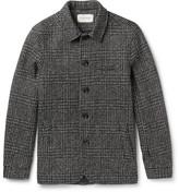 Oliver Spencer - Slim-fit Houndstooth Wool Portobello Jacket