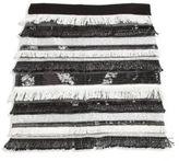 Milly Minis Girl's Sequin Fringe Skirt