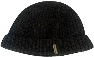 Carhartt Black Wool Hats & pull on hats