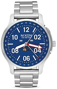 Nixon Black Ascender Watch, 42mm