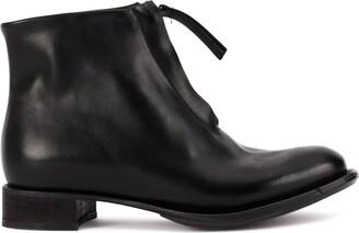Cherevichkiotvichki Zipped Ankle Boots