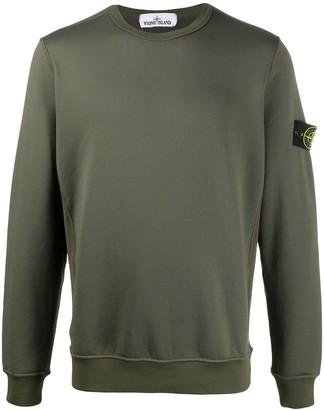 Stone Island Logo-Patch Sweatshirt