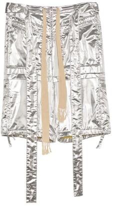 Loewe x Paula's Ibiza Metallic Cargo Shorts