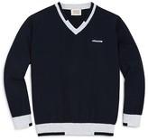 Giorgio Armani Boys' V Neck Sweater - Sizes 4-16
