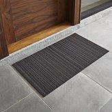 """Crate & Barrel Chilewich ® Steel 20""""x36"""" Doormat"""