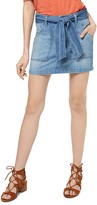 Sanctuary Karate Belted Denim Mini Skirt
