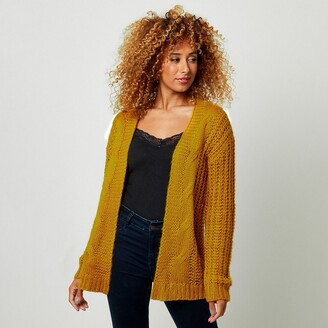 Joe Browns Cable Knit Open Cardigan