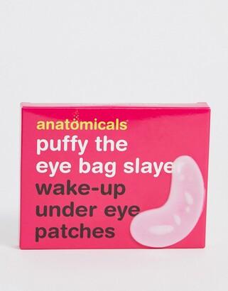 Anatomicals Puffy The Eye Bag Slayer Wake-Up Under Eye Patches
