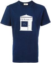 MAISON KITSUNÉ café print T-shirt - men - Cotton - S