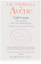 Eau Thermale Avene Cold Cream Ultra-Rich Cleansing Bar, 3.52 oz.