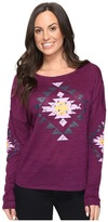 Cruel - Polyester Slub Sweater Knit Women's Sweater