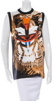 Givenchy Silk Printed Sleeveless Top