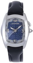 Chronotech Men's CT.7660M/02 Black Calfskin Band watch.