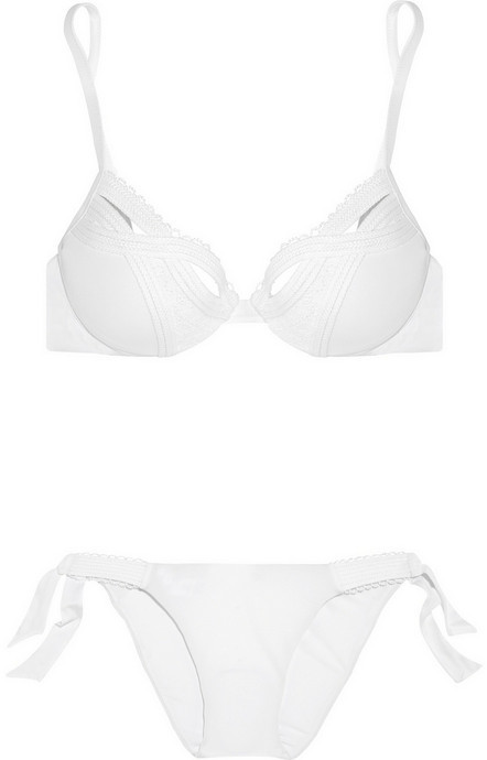 La Perla Symphony Rock molded underwired bikini