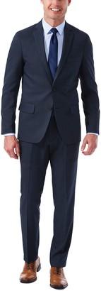 Haggar Men's Slim-Fit Stretch Melange Gabardine Suit Jacket