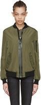 Mackage Green Verena Bomber Jacket