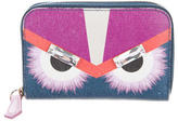 Fendi 2015 Monster Eyes Compact Wallet
