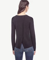 Ann Taylor Split Back Sweater