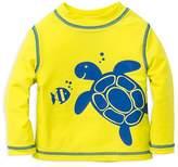 Little Me Boys' Turtle Rash Guard - Baby