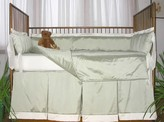 The Well Appointed House Lulla Smith Capri Three Piece Crib Bedding-Available in a Variety of Colors