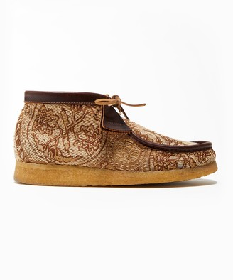 Clarks Todd Snyder x Brown Paisley Wallabee Boot