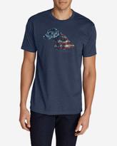 Eddie Bauer Men's Graphic T-Shirt - Flagrador Retriever