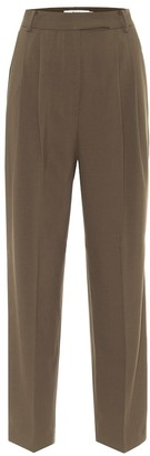 Frankie Shop Bea high-rise straight pants