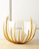 John-Richard Collection Gold Star-Struck Bowl