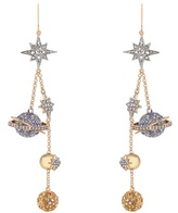 Roberto Cavalli Planet Charms embellished drop earrings
