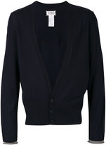 Maison Margiela deep v-neck cardigan