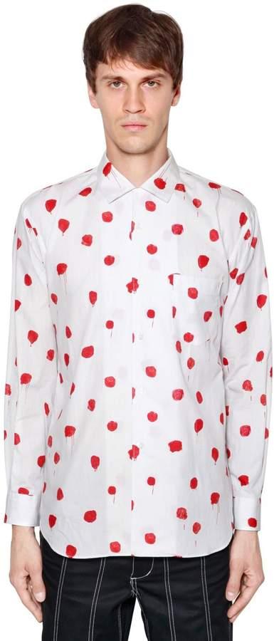 Comme des Garcons Heilmann Printed Cotton Poplin Shirt