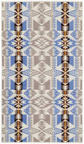 Pendleton Oversized Jacquard Beach Towel - Silver Bark