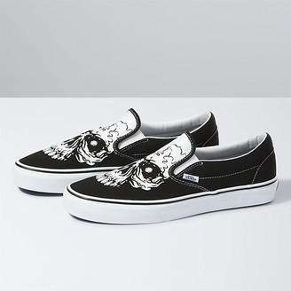 Vans TM Glow Skulls Classic Slip-On