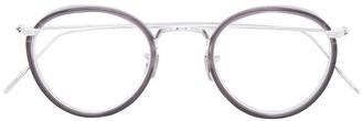 Eyevan 7285 Contrast Round Glasses