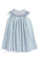 Luli & Me Infant Girl's Floral Smocked Dress