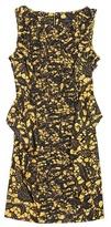 Thakoon ROCCOCO GATHERED RUFFLE STRETCH DRESS