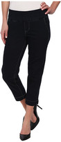 Jag Jeans Hope Pull-On Slim Fit Crop Denim in After Midnight