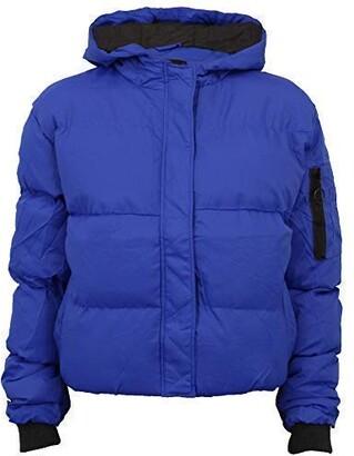Brave Soul Ladies' Jacket KARENPKB Cobalt UK 12