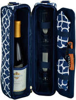 Picnic at Ascot Trellis Blue Wine Carrier For 2