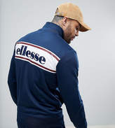 Ellesse Track Jacket With Back Panel Logo In Navy