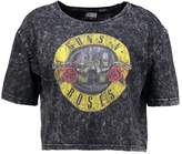 Urban Classics GUNS N' ROSES Print Tshirt darkgrey