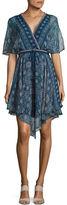 Ella Moss Printed Silk Dress