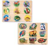 Melissa & Doug Toddler Animal Sound Puzzles