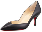 Christian Louboutin Malachic Pointed Leather Pump, Black