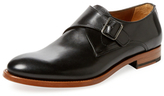 Antonio Maurizi Leather Narrow Monkstrap
