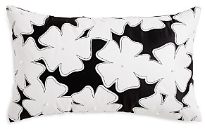 Karl Lagerfeld Paris Cutout Floral Decorative Pillow
