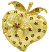 Brooched Edgy en Strawberry Brooch