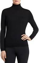 Lafayette 148 New York Turtleneck Wool Top