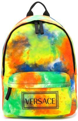 Versace TEEN tie-dye backpack